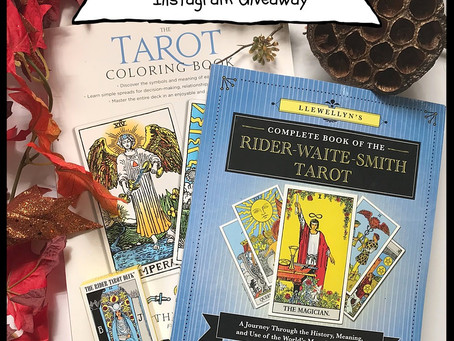 Your Chance to Win Llewellyn's Complete Book of RWS, The Tarot Coloring Book, & Mini RWS Deck