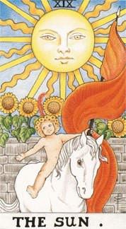 Sasha Graham's Tarot Card a Day Blog – The Sun Card