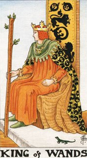 Sasha Graham's Tarot Card a Day Blog – The King of Wands