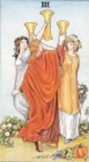 Sasha Graham's Tarot Card a Day Blog – The Shamrock Spread and the Three's of Tarot