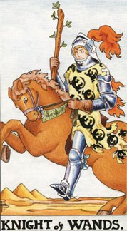 Sasha Graham's Tarot Card a Day Blog – The Knight of Wands