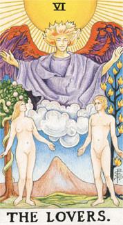 Sasha Graham's Tarot Card a Day Blog – The Lovers