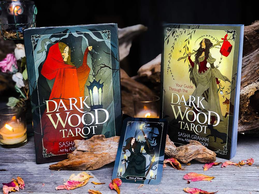 Dark Wood Tarot by Sasha Graham and illustrated by Abigail Larson