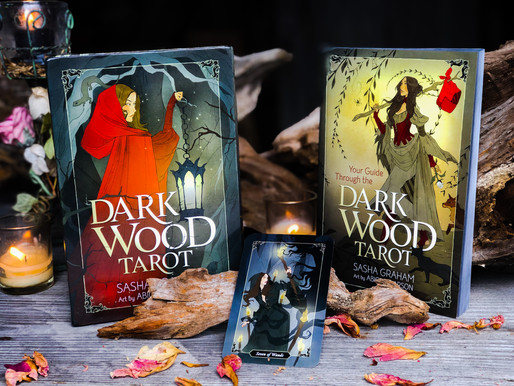 The Dark Wood Tarot's Hanged Man