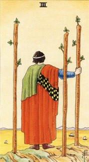 Sasha Graham's Tarot Card a Day Blog – The Three of Wands