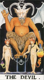 Sasha Graham's Tarot Card a Day Blog – The Devil