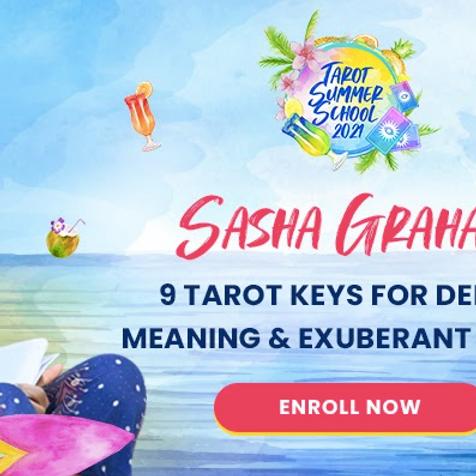 🔮 9 Tarot Keys for Deeper Meaning & Exuberant Magic with Sasha Graham Unlock new doorways of understanding in th... (1)