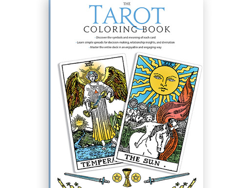 5 Reasons We ALL Need Theresa Reed's New Tarot Coloring Book