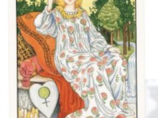 Sasha Graham's Tarot Diva Blog – The Empress and Diane von Furstenberg Tarot Spread