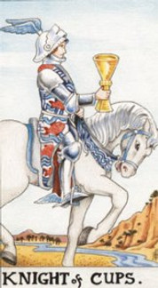 Sasha Graham's Tarot Diva Blog – Love Letter from the Knight of Cups the Reluctant Warri
