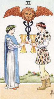 Sasha Graham's Tarot Card a Day Blog – The Two of Cups