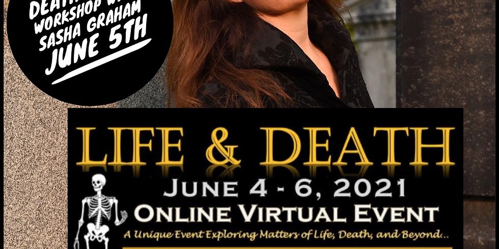 Death Card Workshop with author and Dark Wood Tarot creator Sasha Graham