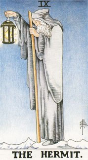 Sasha Graham's Tarot Card a Day Blog – The Hermit