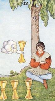 Sasha Graham's Tarot Card a Day Blog – Four of Cups