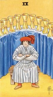 Sasha Graham's Tarot Card a Day Blog – The Nine of Cups