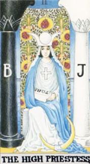 Sasha Graham's Tarot Diva Card of the Week – The High Priestess