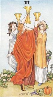Sasha Graham's Tarot Card a Day Blog – Three of Cups