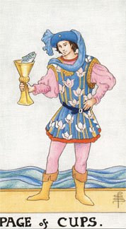 Sasha Graham's Tarot Card a Day Blog – The Page of Cups