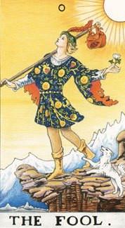 Sasha Graham's Tarot Card a Day Blog – The Fool
