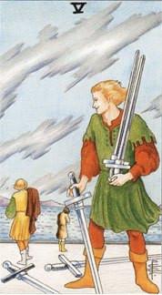 Sasha Graham's Tarot Card a Day Blog – Five of Swords