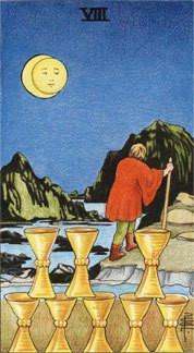 Sasha Graham's Card a Day Tarot Blog – The Eight of Cups