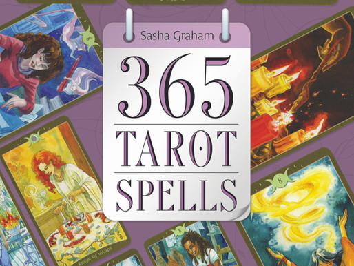 Cover Reveal for 365 Tarot Spells and Mexican Chocolate Love Truffle Recipe