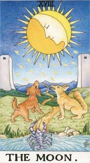 Sasha Graham's Tarot Card a Day Blog – The Moon