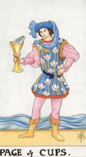Sasha Graham's Tarot Diva Blog – The Page of Cups Tarot Card