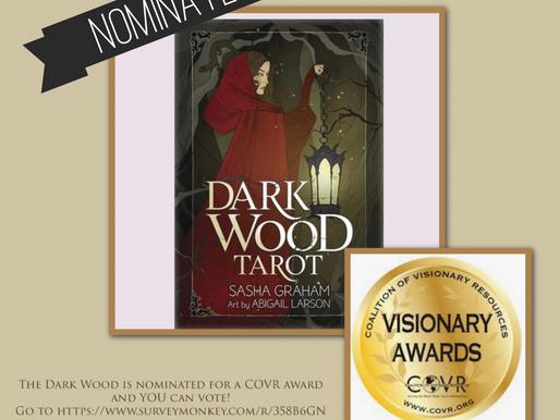 The Dark Wood Tarot Nominated for a CORV Visionary Award