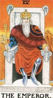 Sasha Graham's Tarot Card a Day Blog – The Emperor