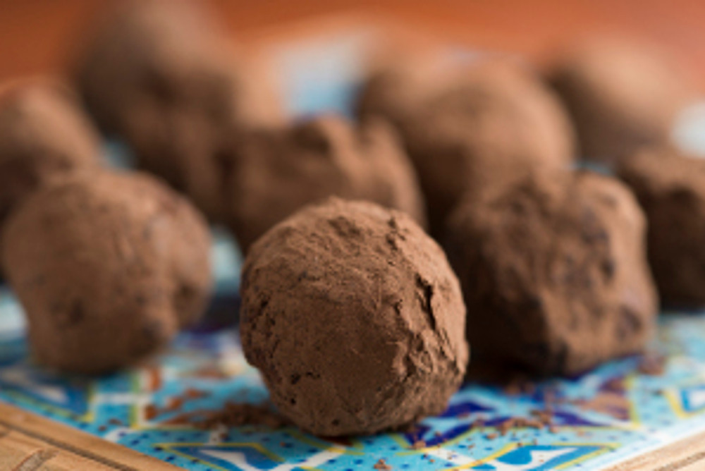 Mexican Chocolate Love Truffles