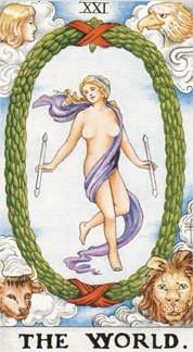 Sasha Graham's Tarot Card a Day Blog – The World