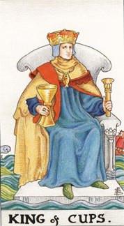 Sasha Graham's Card a Day Tarot Blog – The King of Cups