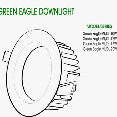 GREEN EAGLE DOWNLIGHT