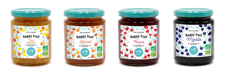 Gamme Happy Fruit
