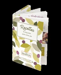 Jean Martin - Livret recettes
