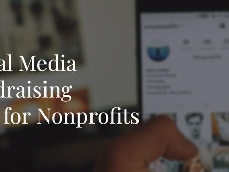 Social Media Fundraising Tips for Nonprofits