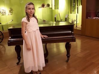 Aluna da Escola de Música da Malveira brilha em Concurso Internacional de Piano na Macedónia