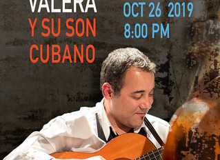 Kiki Valera CD Release Party Sat Oct 26 at The Seattle Town Hall