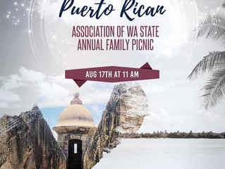 Buena Vibra live at The Puerto Rican Association of Washington State Picnic This Sat Aug 17