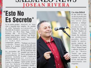 "Josean Rivera New Production ""Esto No Es Secreto"" available Friday 8/13 on all digital platforms"