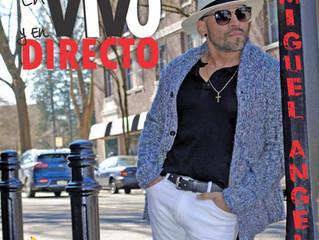 """New release Miguel Angel """"Todo Pasa"""" from new production """"En Vivo y En Directo"""""""
