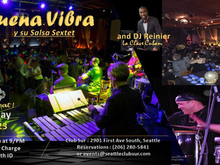 Buena Vibra Live at Club Sur March 23
