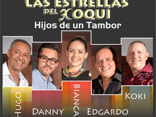 The front line of Las Estrellas Del Coqui