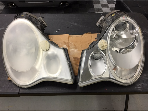 headlight restoration Miami