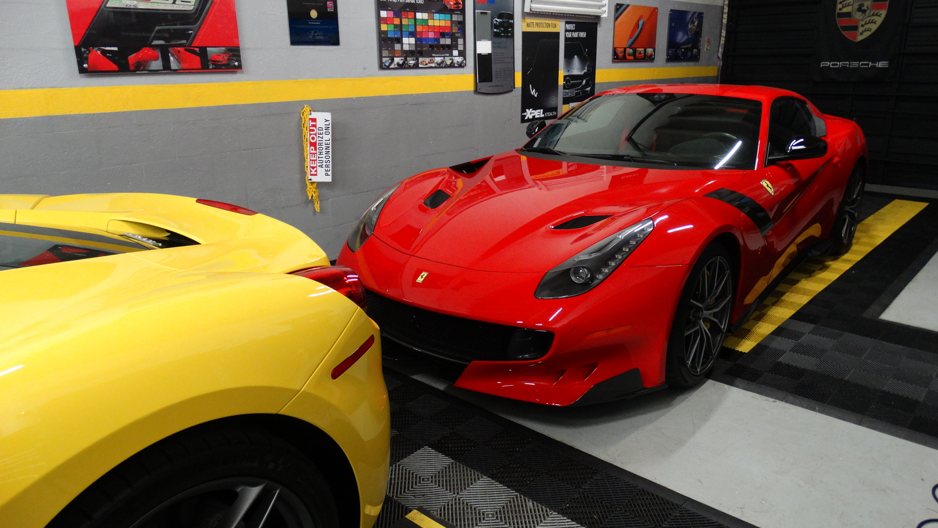 Ferrari day at First Class Autosports