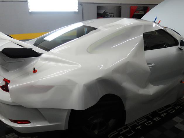 Porsche GT3  paint protection film Miami