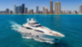 FERRETTI YACHT MIAMI GLASS COATING