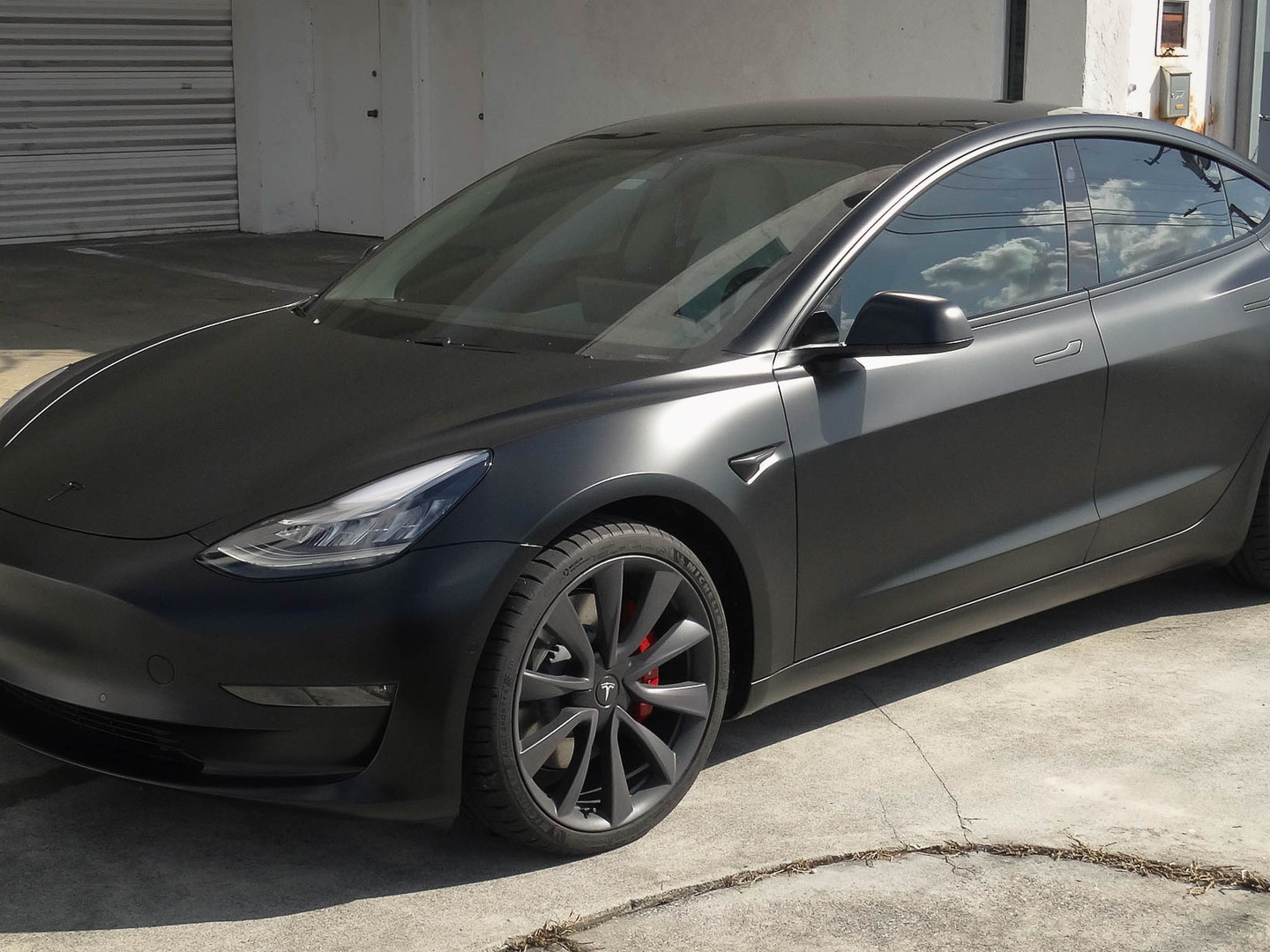Tesla Model 3 Xpel stealth
