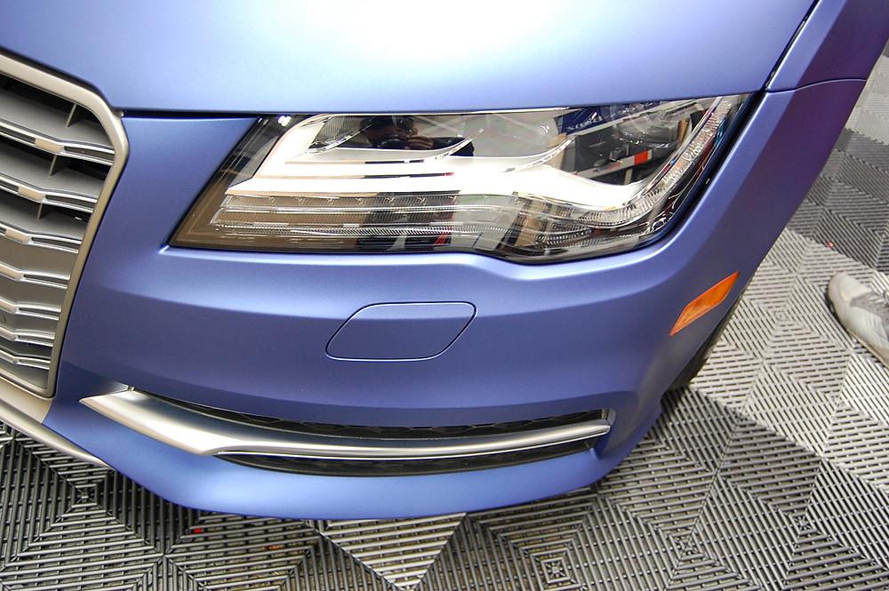 Audi car wrap Miami